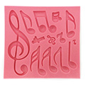 Music Notes Silicone Mould Silicone Mould