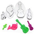 Music Plunger Cutters Set 4pcs
