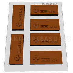 Nintendo Game Controller Chocolate Mould