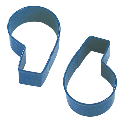 Number Six 6 & Nine 9 Navy Cookie Cutter
