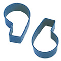 Number Six 6 & Nine 9 Blue Cookie Cutter