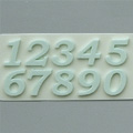 Alphabet Moulds Numbers Silicone Mould