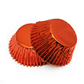 Orange Foil Mini Baking Cups (#360) 240pcs