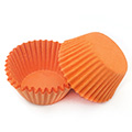 Orange Nordic Paper Mini Baking Cups 240pcs
