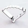 Oriental Fan Plaque Stainless Steel Cookie Cutter