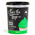 Over The Top Buttercream Icing Green 425g