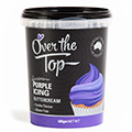 Over The Top Buttercream Icing Purple 425g