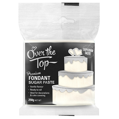 Over The Top Fondant White 250g