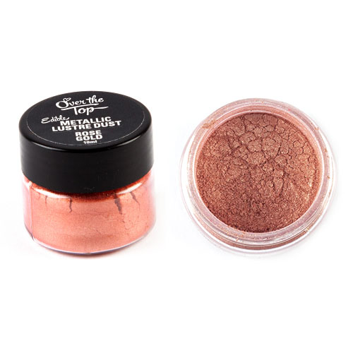Over The Top Rose Gold Lustre Dust 10ml