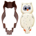 Owl Brown Cookie Cutter
