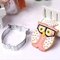 Owl Stainless Steel Cookie Cutter