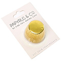 Papyrus Mini Gold Foil Baking Cups 50pcs (35mm Base)
