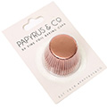 Papyrus Mini Rose Gold Foil Baking Cups 50pcs (35mm Base)