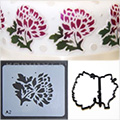 Patchwork Cutters Chrysanthemum Stencil/Cutter