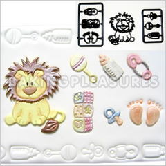 Patchwork Cutters Baby Lion & Nursery Items