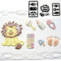 Patchwork Cutters/Embossers Baby Lion & Nursery Items