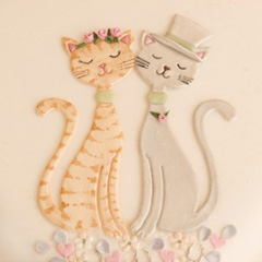 Patchwork Cutters Cats Set