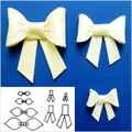 Patchwork Cutters Make A Bow Set