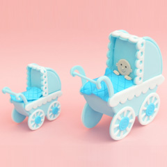Patchwork Cutters Make a Pram Set