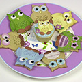 Patchwork Cutters Owl Set