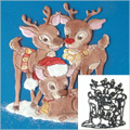 Patchwork Cutters Christmas Reindeer