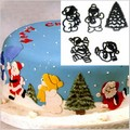 Patchwork Cutters Christmas Santa, Snowman & Tree Set