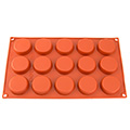 Petit Four Silicone Baking Mould 15 Cavity