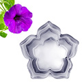 Petunia Flower Cutters 3pcs
