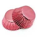 Rose Pink Foil Baking Cups (#550) 240pcs