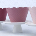 Pink Medium Cupcake Wrapper 12pcs