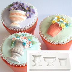 Katy Sue Pots & Urns Silicone Mould