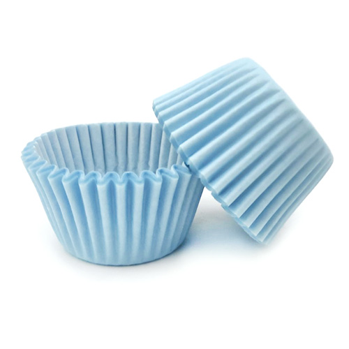 Powder Blue Mini Baking Cups (#360)
