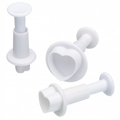 Puffy Heart Plunger Cutter