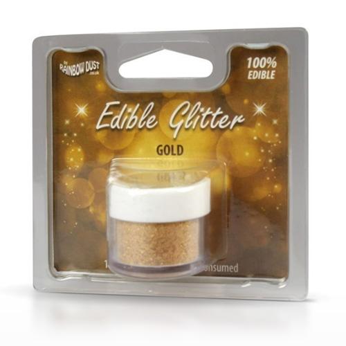 Rainbow Dust Edible Glitter Gold