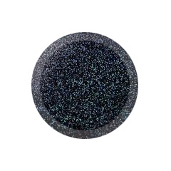 Hologram Black Glitter Rainbow Dust