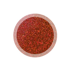 Hologram Red Glitter Rainbow Dust 5g (non toxic)