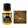 Rainbow Dust Metallic Light Gold Food Paint 25ml