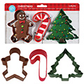 Christmas Cookie Cutter Set 3pcs