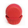 Red Mini Baking Cups 65pcs