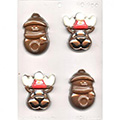 Reindeer Snowman Christmas Chocolate Mould