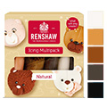 Renshaw Natural Colours Ready to Roll Icing 5x100g