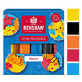 Renshaw Neon Colours Ready to Roll Icing 5x100g (BB: Aug 2016)