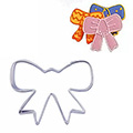 Ribbon Bow Stainless Steel Cookie Cutter