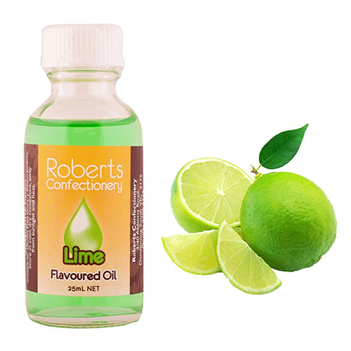 Roberts Lime Flavoured Oil 30ml