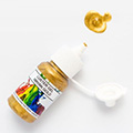 Rolkem Gel Lustre Paint Mayan Gold 15ml
