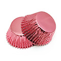 Rose Pink Foil Mini Baking Cups (#360) 240pcs