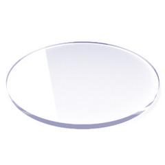 Round Ganache & Buttercream Acrylic Cake Board 7 inch