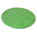 Round Grass Print Masonite Cake Board 8 Inch