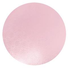 Round Pink Masonite Cake Board 10 Inch