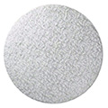 Round Silver Masonite Cake Board 7 Inch